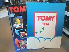 RARE TOMY TOY FAIR CATALOGS 1994 TV TEDDY WATER HANDHELDS SONIC THE HEDGEHOG