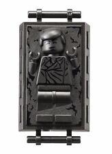 Nuevo Lego Star Wars Minifigura Minifigura Han Solo en Carbonita 75137 9516