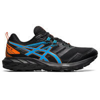 Asics Gel-Sonoma 6 Mens Trail Running Fitness Trainer Shoe Black/Blue