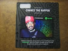 Starbucks Limited Edition CHANCE THE RAPPER Gift Card New Release