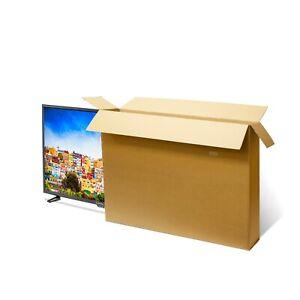 Large LG Flat Screen TV Cardboard Box Bike Storage Packaging Transport Shipping