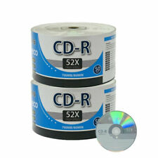 MyEco ME-CDR52LGO CD-R CDR 52X 700MB 80Min Economy Logo Top Write Once Blank Media Record Disc - 100 Count