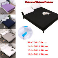 Waterproof Machine Washable Mattress Nursing Protector Sheet Bed Cover 4 Sizes