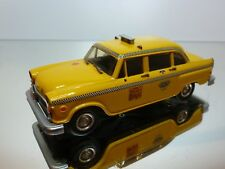 WESTERN MODELS 55 -  CHECKER CAB TAXI   NEW YORK - 1:43 - EXCELLENT CONDITION 7