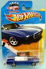 2046 HOT WHEELS / CARTE US / 2011 NEW MODELS / 63 FORD MUSTANG II CONCEPT 1/64