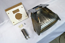 Heatilator EcoChoice BA100 & BH105 Burnpot, Firepot, Burn, Fire Pot Grate - KIT