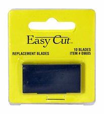 Easy Cut Safety Box Cutter Knife REPLACEMENT BLADES 10 EA/PK with case EASYCUT #