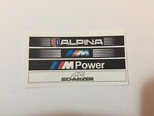1/18 Scale Modified tuning BMW decal sunstrips