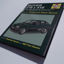 Rover 216 and 416 Service and Repair Manual by Christopher Rogers Haynes