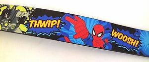 Marvel Comics Ultimate Spider-Man Boy's Bonded Leather Belt NWT Size L 36 inch