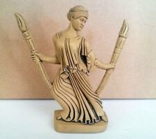 Hecate at the Crossroads with Torches Triple Goddess Pagan Wiccan Statue #HCT