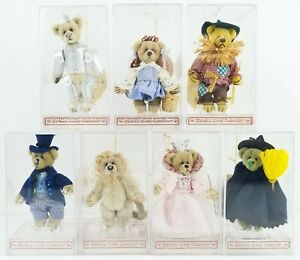 Gund Barton's Creek Collection Wizard of Oz Complete Set of 7 Bears Figures NEW