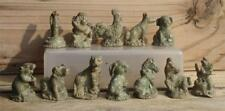 A SET OF 12 ZODIAC ANIMAL STATUES, MADE OF BRASS, VERY NICE