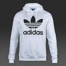 Adidas Originals Trefoil Hoodie Size UK XL Brand New With Tags White Black Hoody