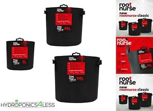 Root Nurse Fabric Black Smart Grow Pot Aeration Container Bag Pouch Hydroponics