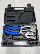 CTT Tools inc Hand Held Power Punch, Sheet Metal Hole Punch Kit