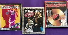 Rolling Stone-Special Issues 60s, 70s, and Greatest Albums of the 80s-Lot of 3