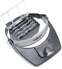 Rolson 2 LED Head Loupe Magnifying Visor 60390 Hl145