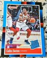COLLIN SEXTON 2018 Donruss #1 Draft Pick 1988 RATED Rookie Card SP RC Cavs $ HOT