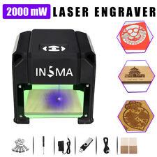 2000mW USB Laser Engraver DIY Logo Mark Printer Cutter  Carver Engraving Machine
