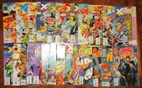 X-Force Comic Lot MARVEL 6 14 20 21 24 28 31 32 35* 36* 37 40 41 43 45+ Cable