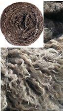 (9,50€/100g) 100g Naturgarn Skuddenwolle Wolle Dolly Handstrickgarn unbehandelt