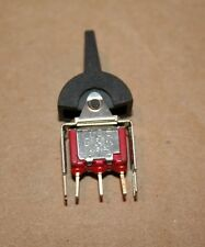 C&K SPDT 7105 Toggle Switch MOM/OFF/MOM 2A-250VAC 5A-120VAC Lever New Stock