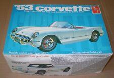 MODEL KIT AMT # T 310 CORVETTE 1953 VINTAGE 1/25