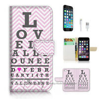 ( For iPhone 7 ) Wallet Case Cover P1988 Love