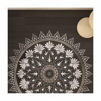 Varanasi Mandala Wall Furniture Floor Stencil for Painting