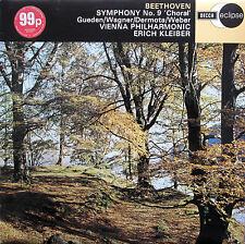 ECS 501 Beethoven Symphony 9 Choral Erich Kleiber Decca Eclipse NM/EX