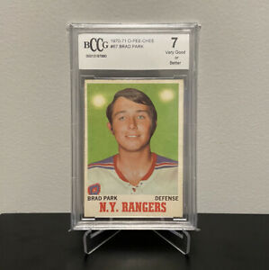 1970 71 O-PEE-CHEE OPC BRAD PARK RC ROOKIE #67 BECKETT BCCG BGS 7 VINTAGE HOT!!