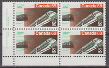 CANADA #1093 68¢ Expo 86 LL Inscription Block MNH