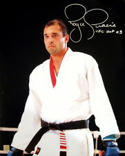 "Royce Gracie Ufc Autographed Signed 16x20 ""Staredown"" Photo Asi Proof"