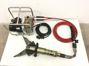 Weber Hydraulik Rescue E330 L Rettungssatz SPS330 Kombigerät Schere Spreizer Set
