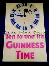Ten To One Its Guinness Time - Gilroy Irish Stout Beer Pub & Bar Ireland Print