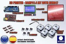 Electronics Reprap Ramps 1.4 Mega 2560 kit + mk2b +12864 LCD +DRV8825 + NEMA17 +