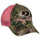 Camo with Pink Mesh Back Cap, Mossy Oak Break Up Country Camo Cap for Women