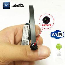 Spy Nanny wireless WIFI IP Pinhole camera Digital Video Camera Mini Micro Dvr