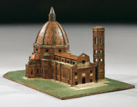 Modellino della chiesa di Santa Maria del Fiore, XVIII secolo, 47x77x49 cm