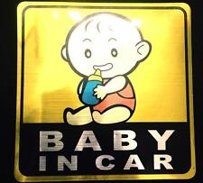 Baby on Board Baby in Car Funny Car Sticker for Rear Windshield Decal Vinyl