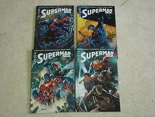 SUPERMAN SAGA n°1 à 4- Lot de 4 comics