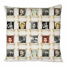 DAVID BOWIE COOL RETRO CUSHION COVER PILLOW CASE FASHION IDEAL GIFT PRESENT