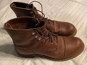 Redwing Heritage Iron Ranger Boots US Men's 12  EXCELLENT