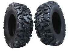 "2 New Rear 25x10-12 KT MASSFX TIRE SET ATV TIRES 6 PLY 25"" 25x10x12"