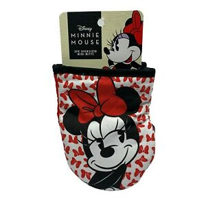 Disney Minnie Mouse 2 pack Oversized Mini Oven Mitts