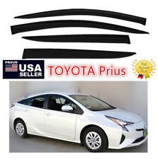 Fit 16- 2018 Toyota Prius / Prime WINDOW VISOR VENT Rain SHADE OE JDM  STYLE