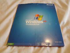 Pre- owned Microsoft Windows Xp rofessional Full Version Disc COA Product Key