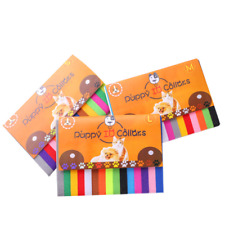 (CC096)  Kitten Puppy Newborn Whelping ID Collars Pack of 15 Different Colours