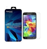Premium Tempered Glass Screen Protector Film for Samsung Galaxy S5